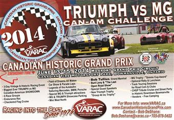 Canadian Historic Grand Prix 2014
