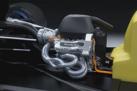 2014 Formula 1 Hybrid Power Unit Mercedes-Benz PU106A