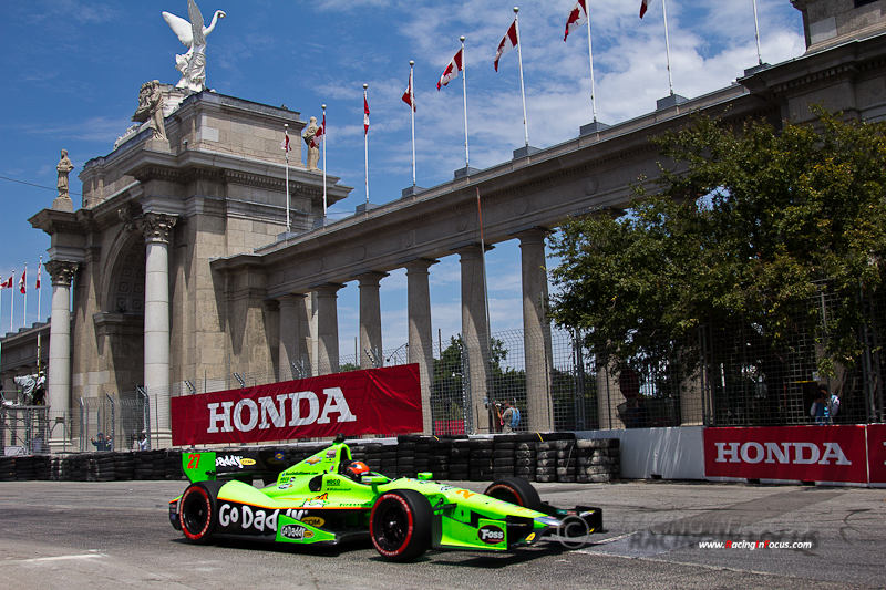 IZOD IndyCar Honda Indy Toronto 2012