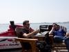 Honda Indy Toronto 2013-pre-event|James Hinchcliffe and Alex Tagliani