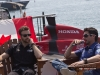 Honda Indy Toronto 2013-pre-event|James Hinchcliffe and Alex Tagliani