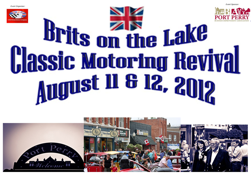 Brits on the Lake - Classic Motoring Revival